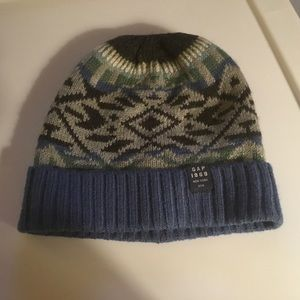 Gap Boys Blue/Gray/Black/Green Beanie Size S/M.